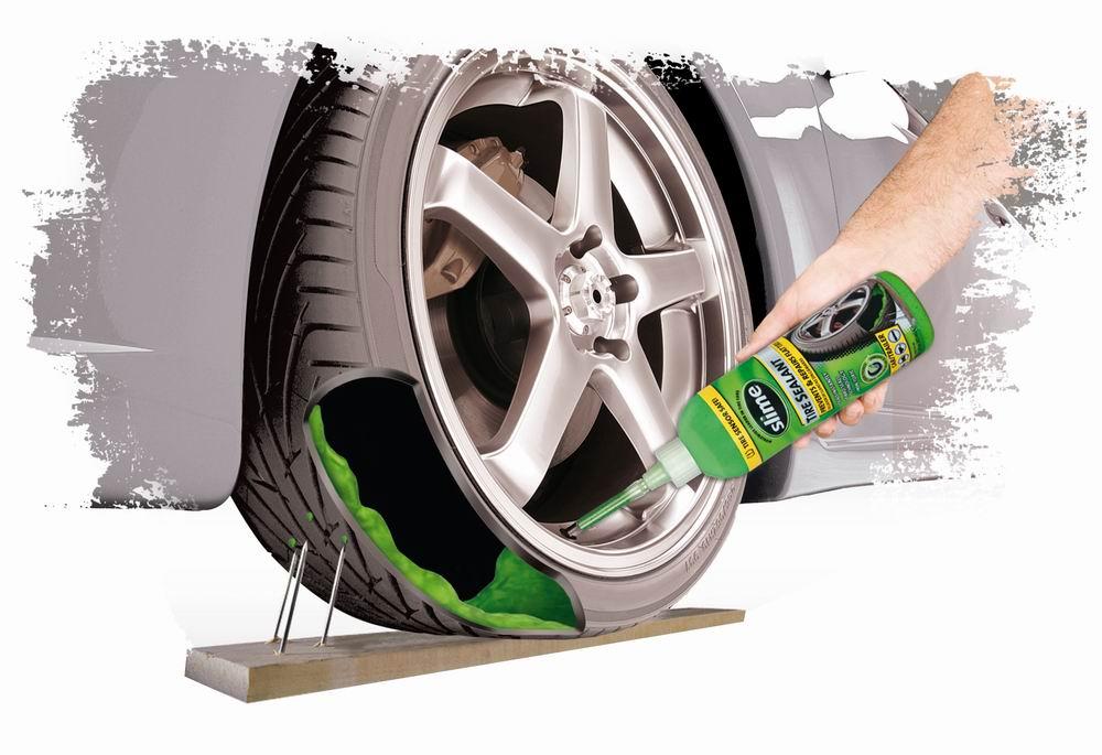 produit d'étanchéité pour pneus Slime