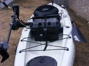 kayak de pêche motorisé